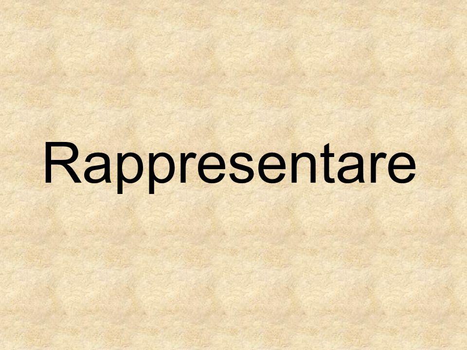 Rappresentare