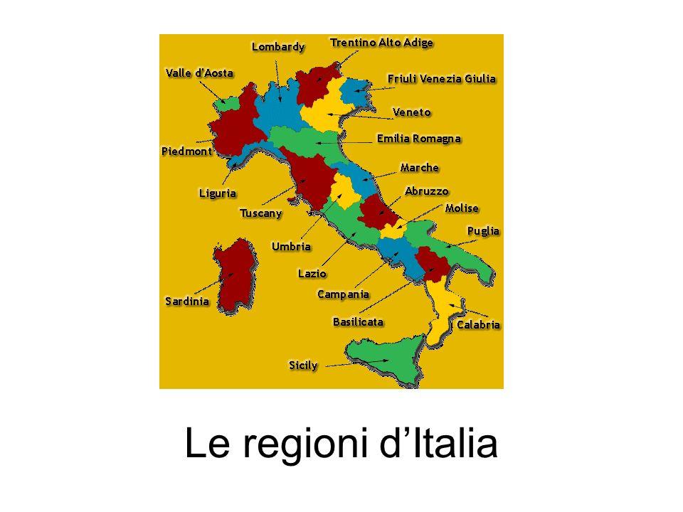 Le regioni dItalia