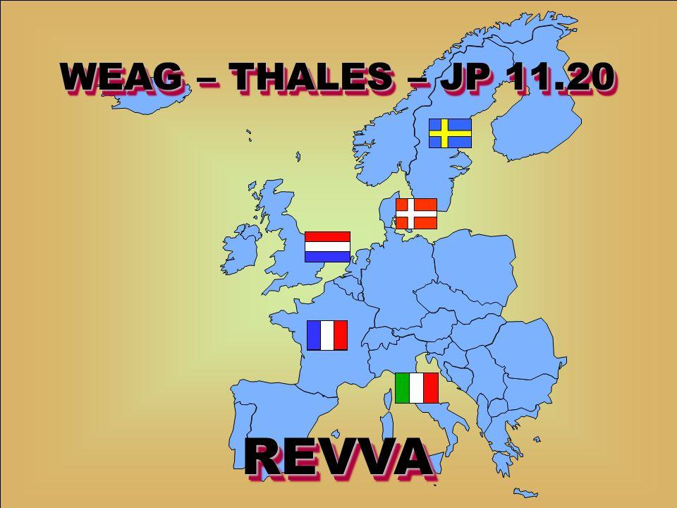 WE 0201 – PKIT2Date : November 2004Slide : 1 / 74 WEAG – THALES – JP 11.20 REVVAREVVA