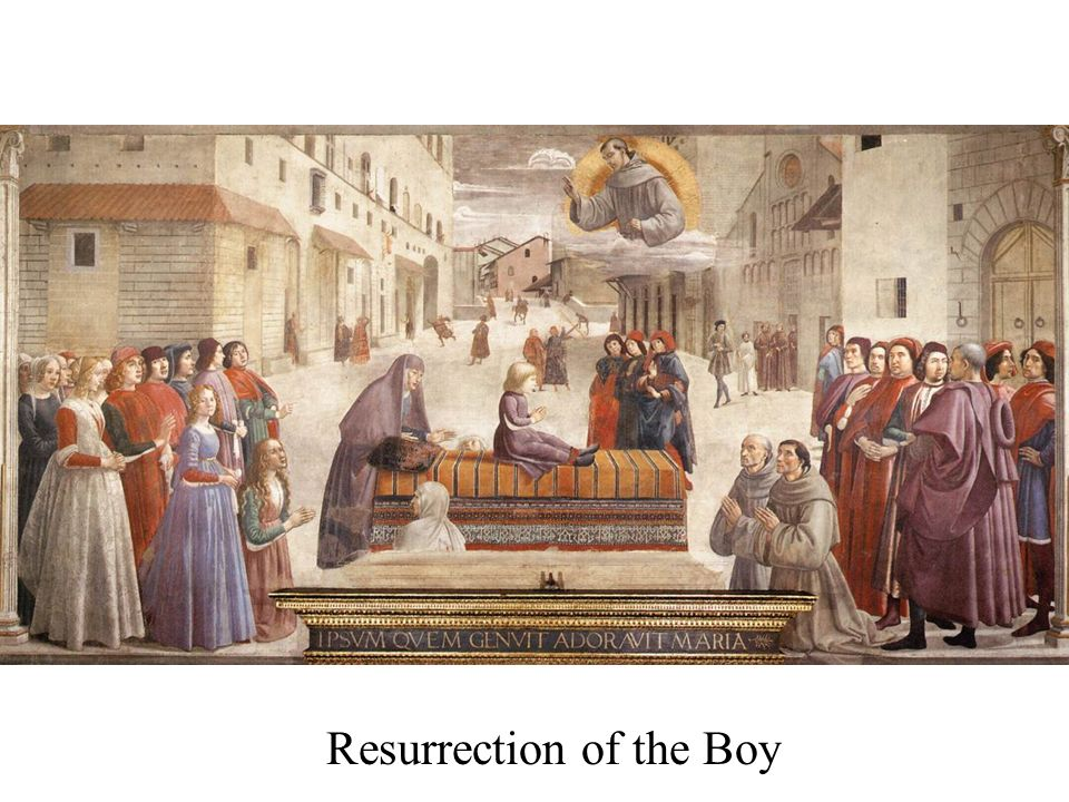 Resurrection of the Boy