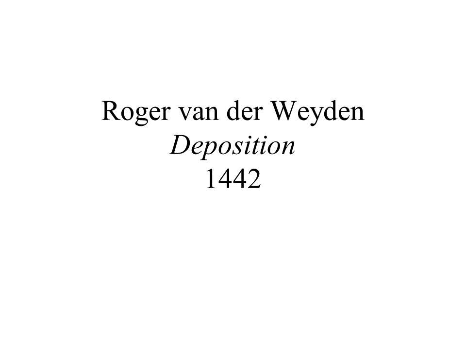 Roger van der Weyden Deposition 1442