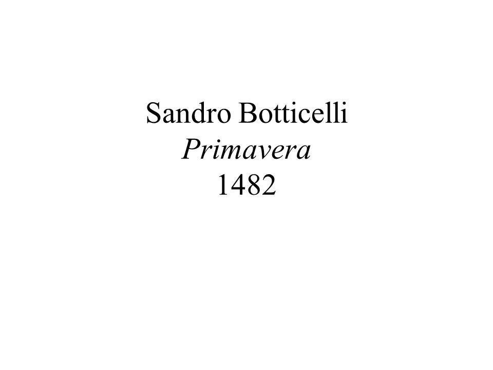 Sandro Botticelli Primavera 1482