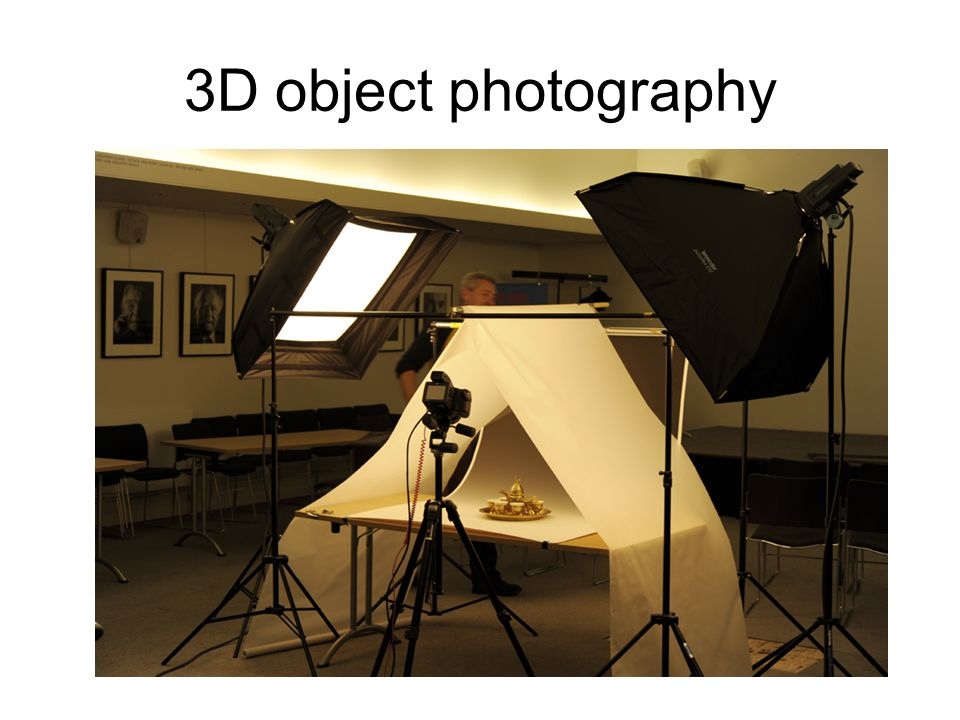3D object photography