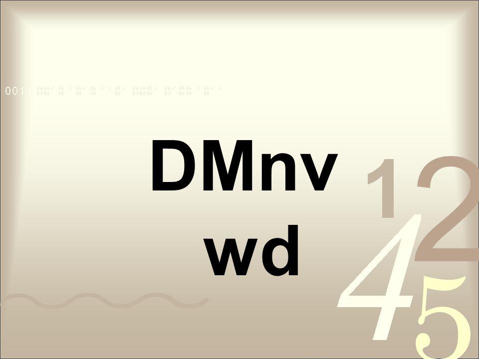 DMnv wd
