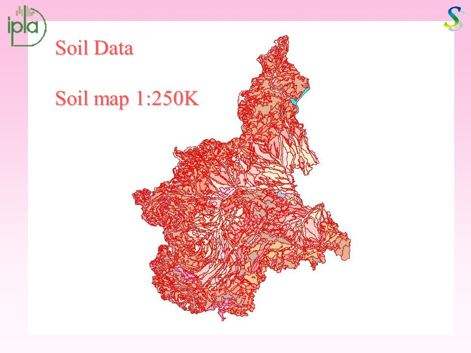 Soil Data Soil map 1:250K