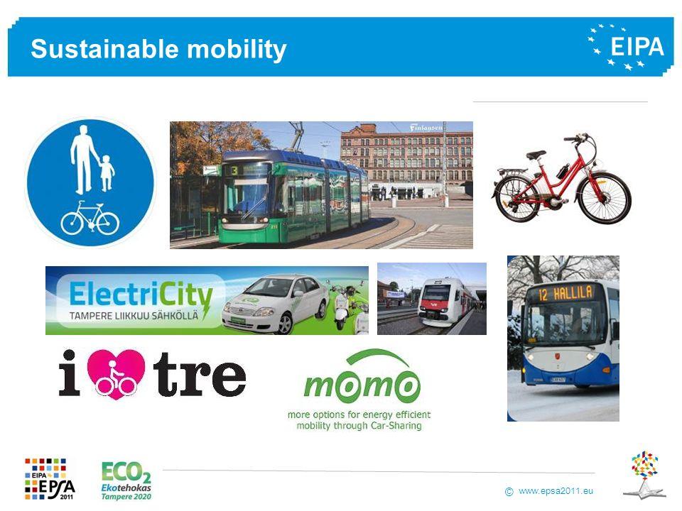 www.epsa2011.eu © Sustainable mobility