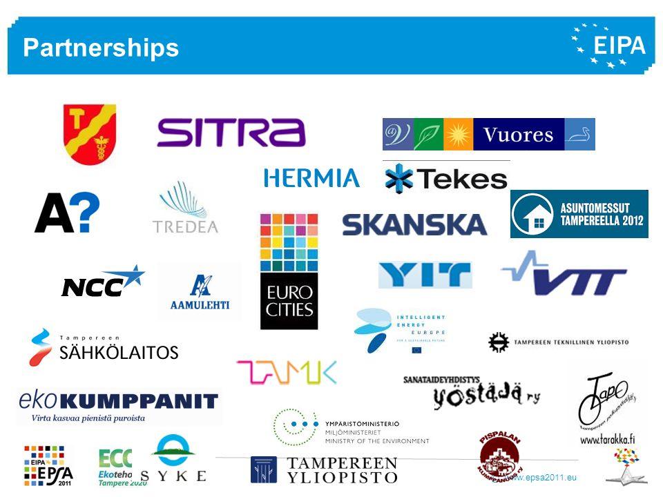 www.epsa2011.eu © Partnerships
