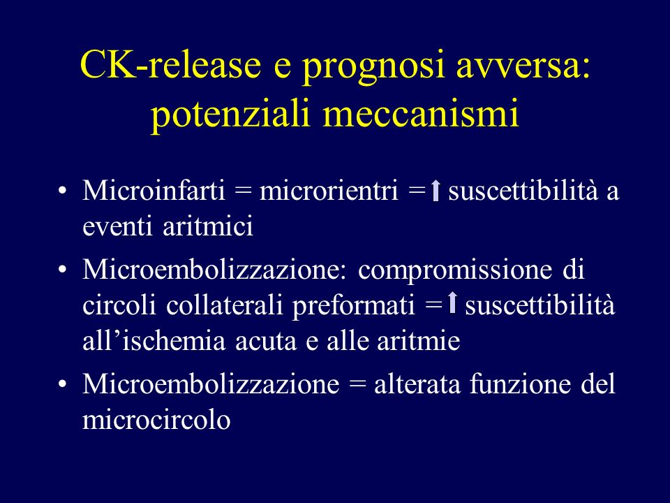 CK-RELEASE AND CAUSES OF DEATH SUDDEN DEATH SUBSEQUENT REVASCULAR. MYOCARDIAL INFARCTION NO CARDIAC ORIGIN