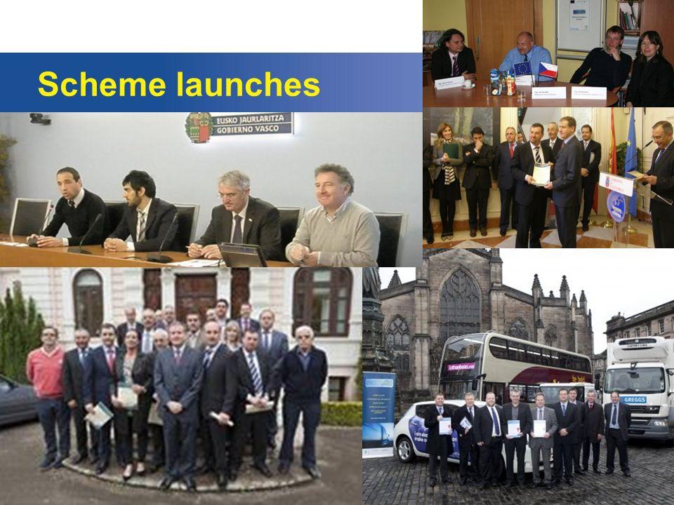 Scheme launches