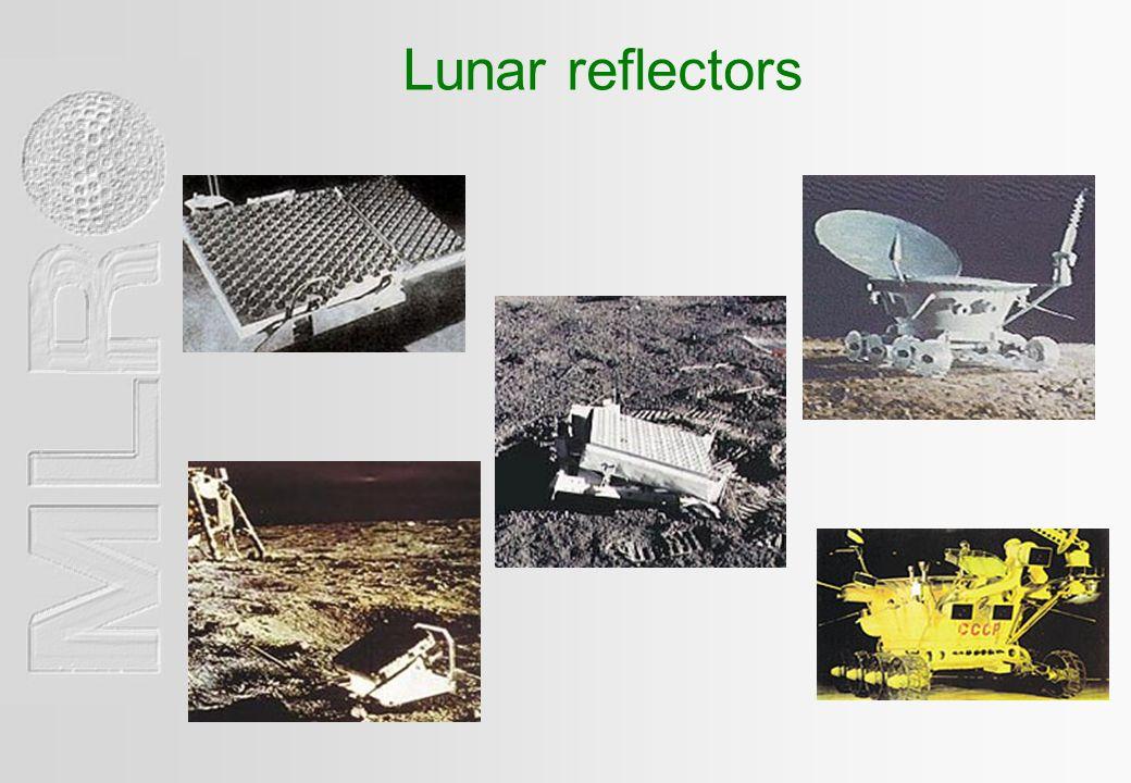 Lunar reflectors