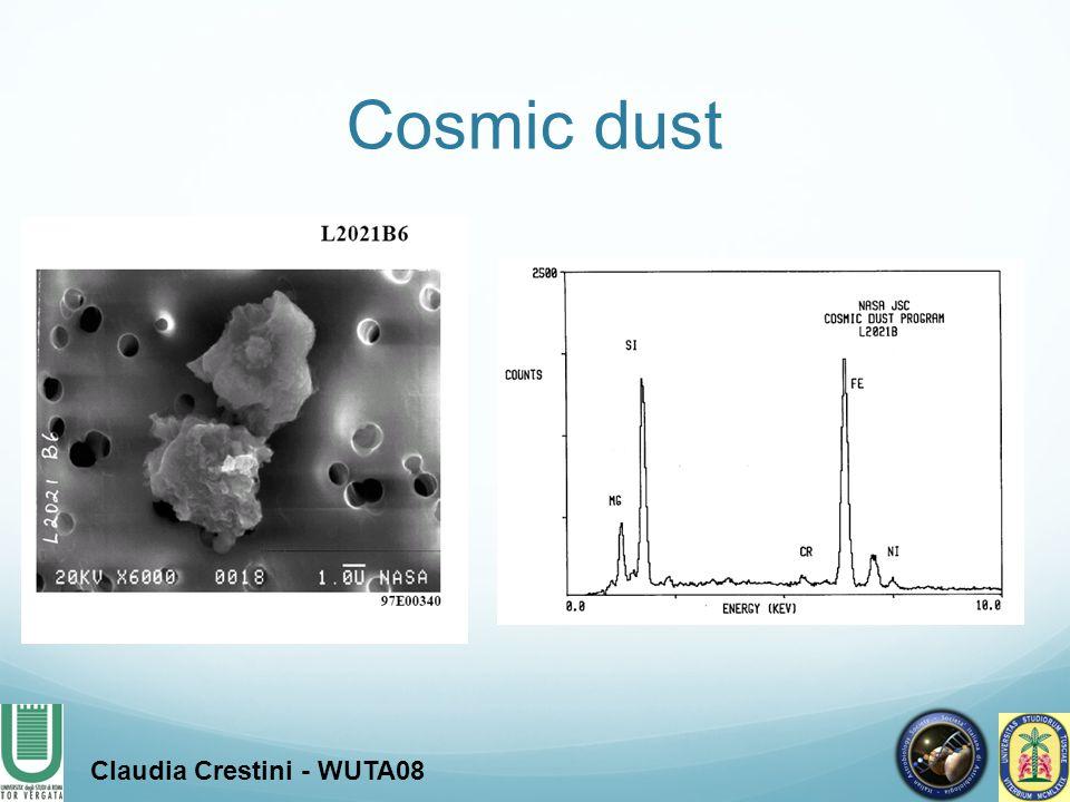 Claudia Crestini - WUTA08 Cosmic dust