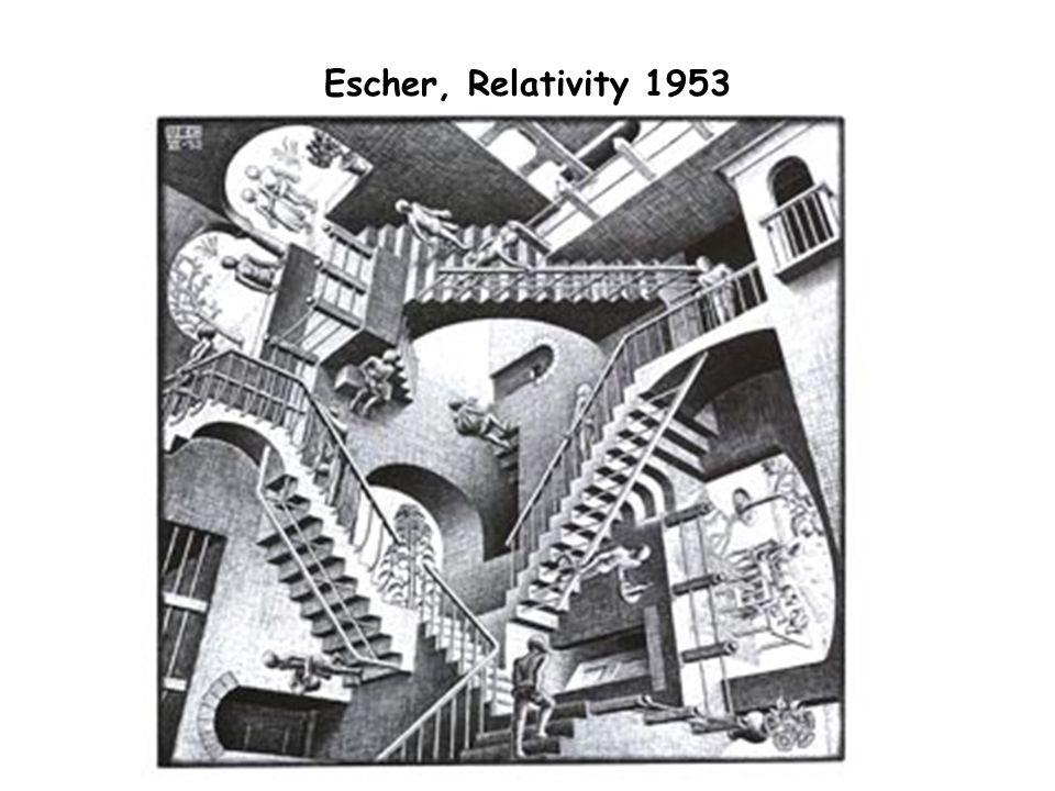Escher, Relativity 1953