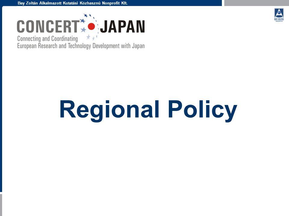 Bay Zoltán Alkalmazott Kutatási Közhasznú Nonprofit Kft. Regional Policy