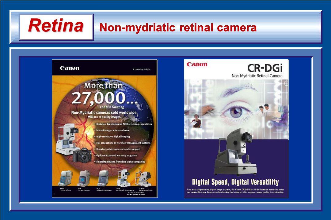 Non-mydriatic retinal camera Retina Retina