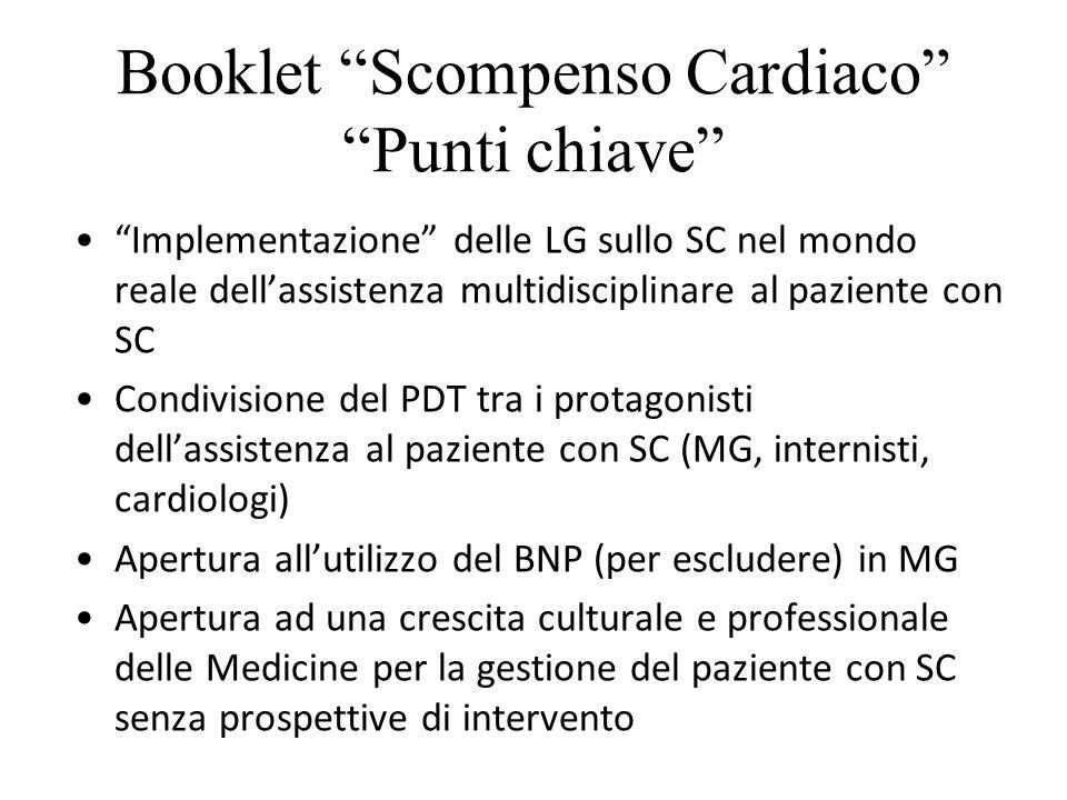 BOOKLETSCOMPENSO CARDIACO Coordinamento: Alberto Gianmarini Barsanti (CEFORMED); Valentino Moretti(FADOI); Andrea Di Lenarda(ANMCO) CEFORMED Battigelli D.