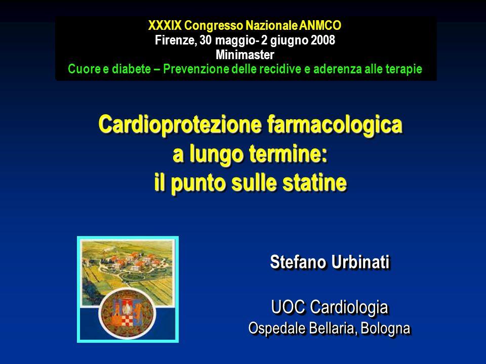 XXXIX Congresso Nazionale ANMCO Firenze, 30 maggio- 2 giugno 2008 Minimaster Cuore e diabete – Prevenzione delle recidive e aderenza alle terapie XXXI