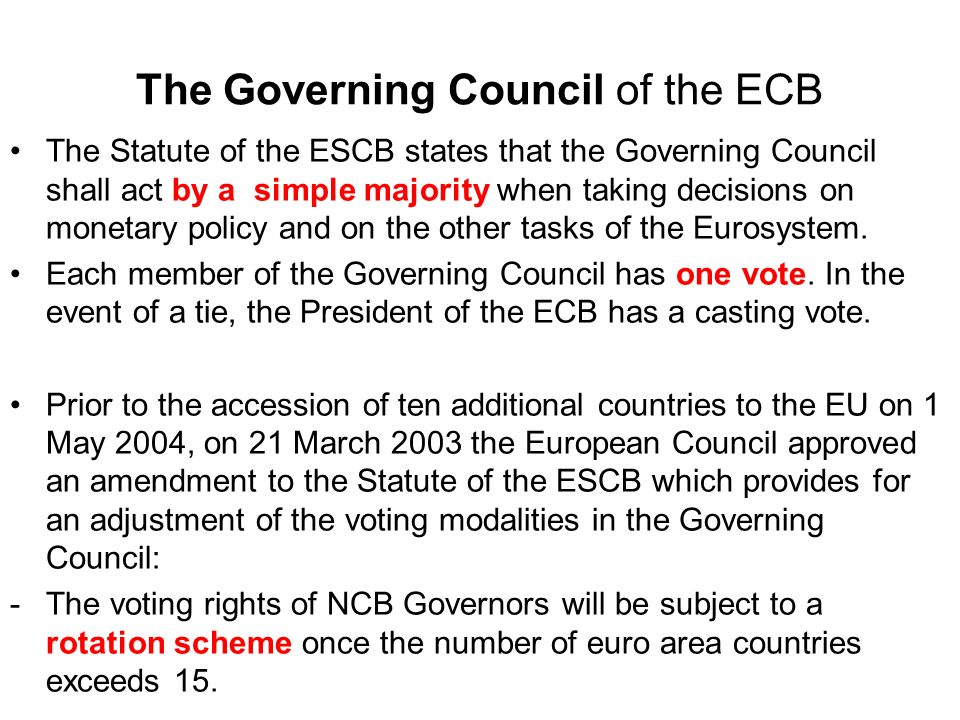 THE ECBS QUANTITATIVE DEFINITION OF PRICE STABILITY The definition of price stability makes clear that the Eurosystem has a euro area-wide mandate.