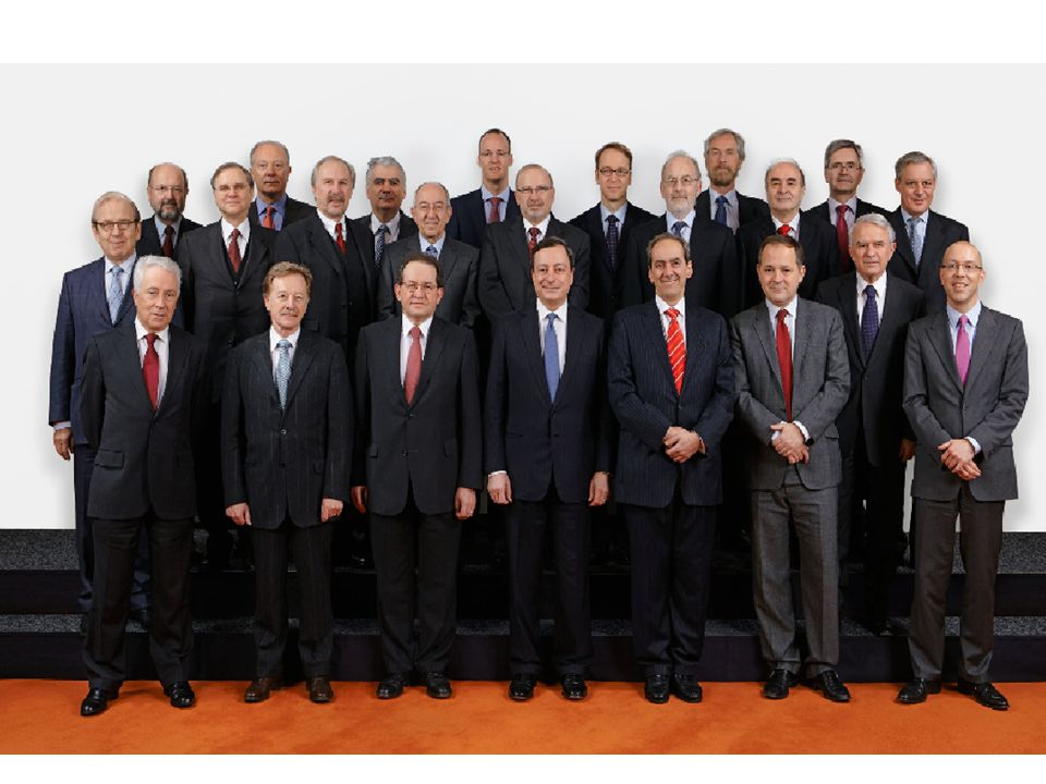 The Executive Board of the ECB the Executive Board: -prepares the meetings of the Governing Council; -implements monetary policy in accordance with the guidelines and decisions laid down by the Governing Council and, in so doing, gives the necessary instructions to the euro area NCBs; The Executive Board of the ECB consists of the President and the Vice-President and four other members, all appointed by common accord of the Heads of State or Government of the euro area countries.