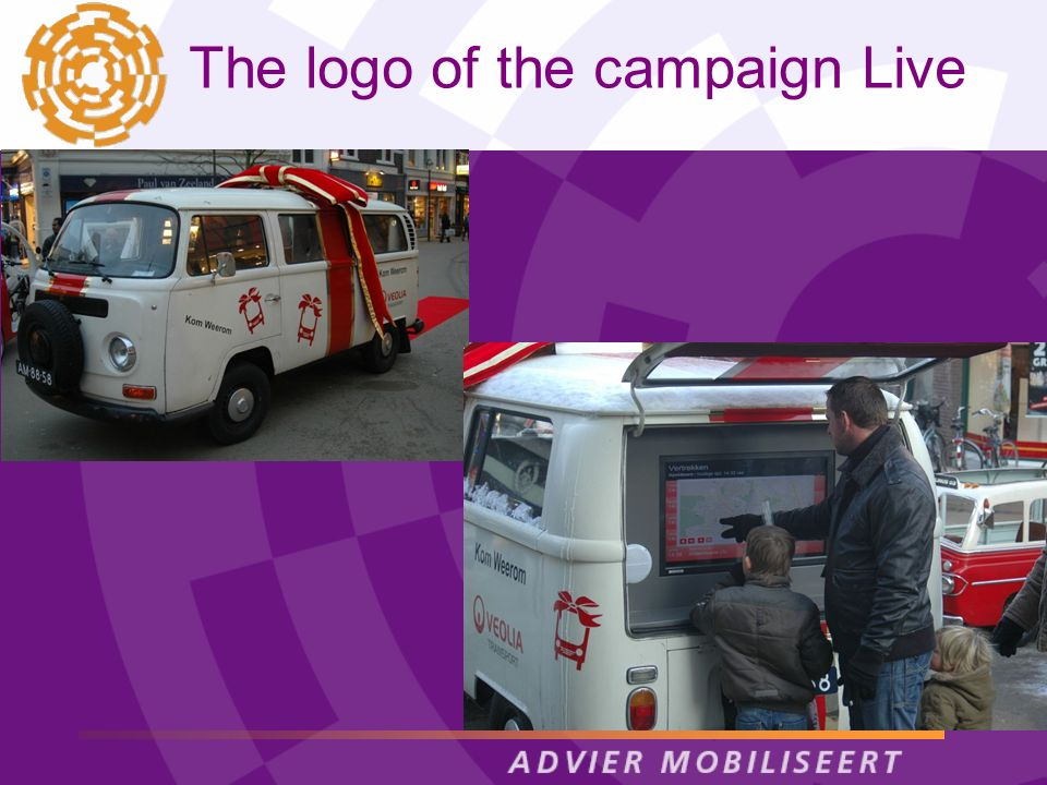 The logo of the campaign Live