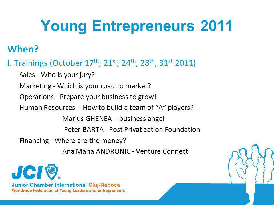 Young Entrepreneurs 2011 When.I.