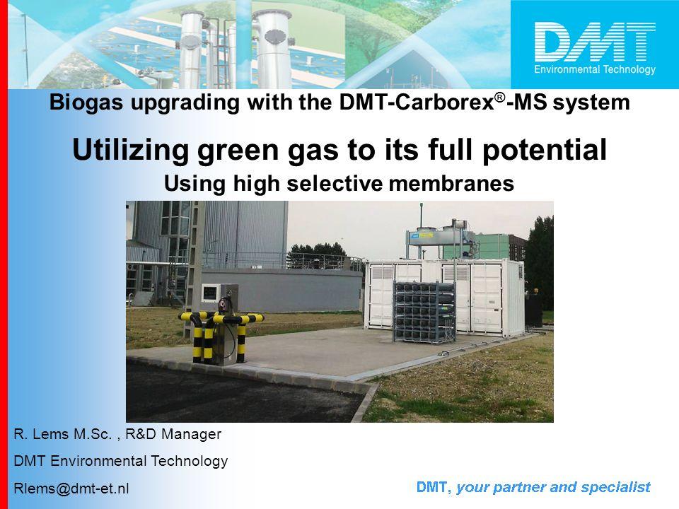 Why biogas upgrading.