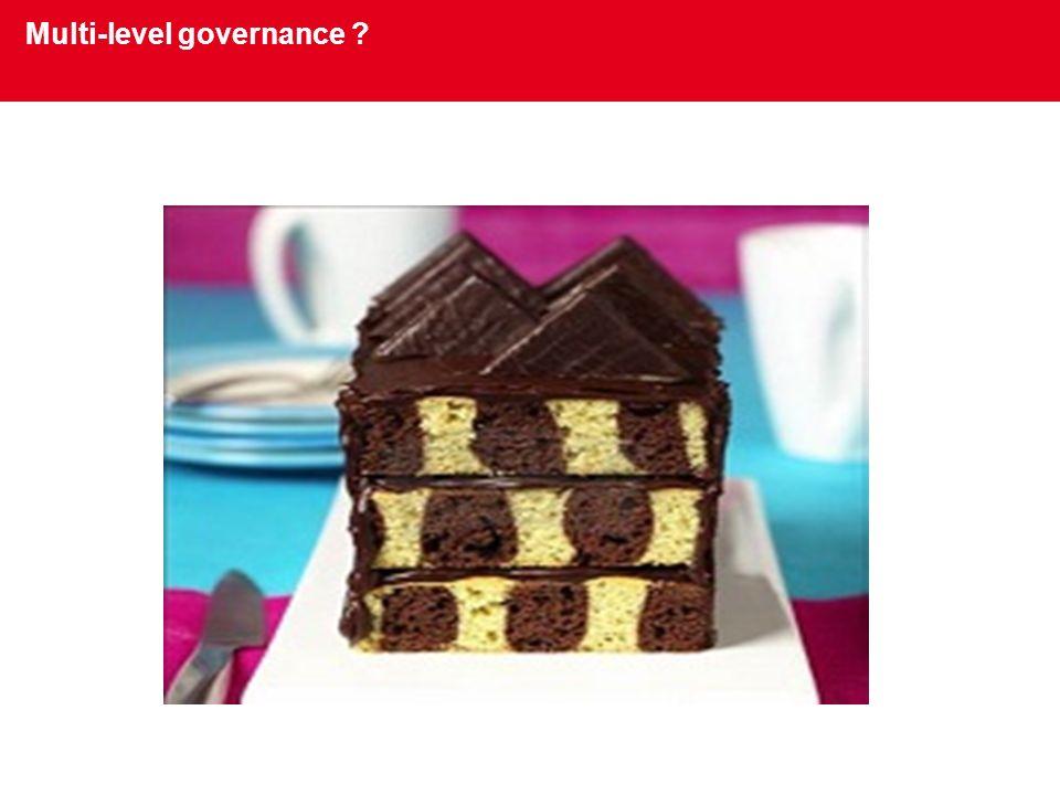 Multi-level governance ?