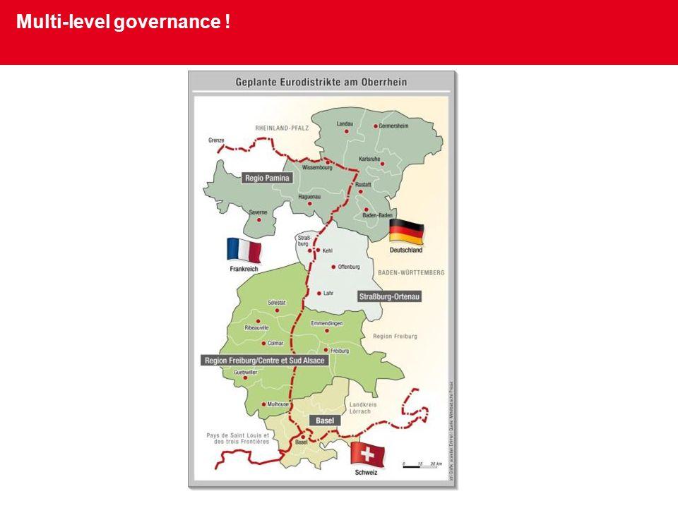 Multi-level governance !