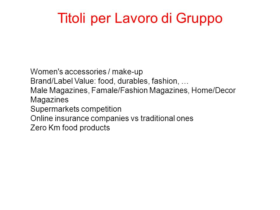 Women's accessories / make-up Brand/Label Value: food, durables, fashion, … Male Magazines, Famale/Fashion Magazines, Home/Decor Magazines Supermarket