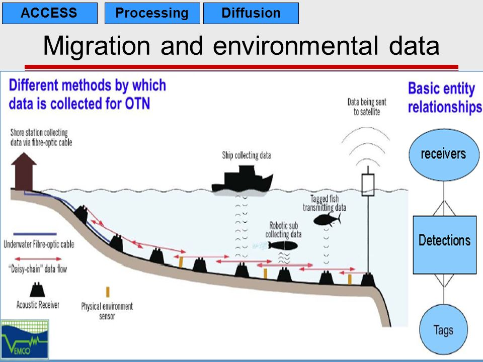 24 Migration and environmental data ACCESSProcessingDiffusion