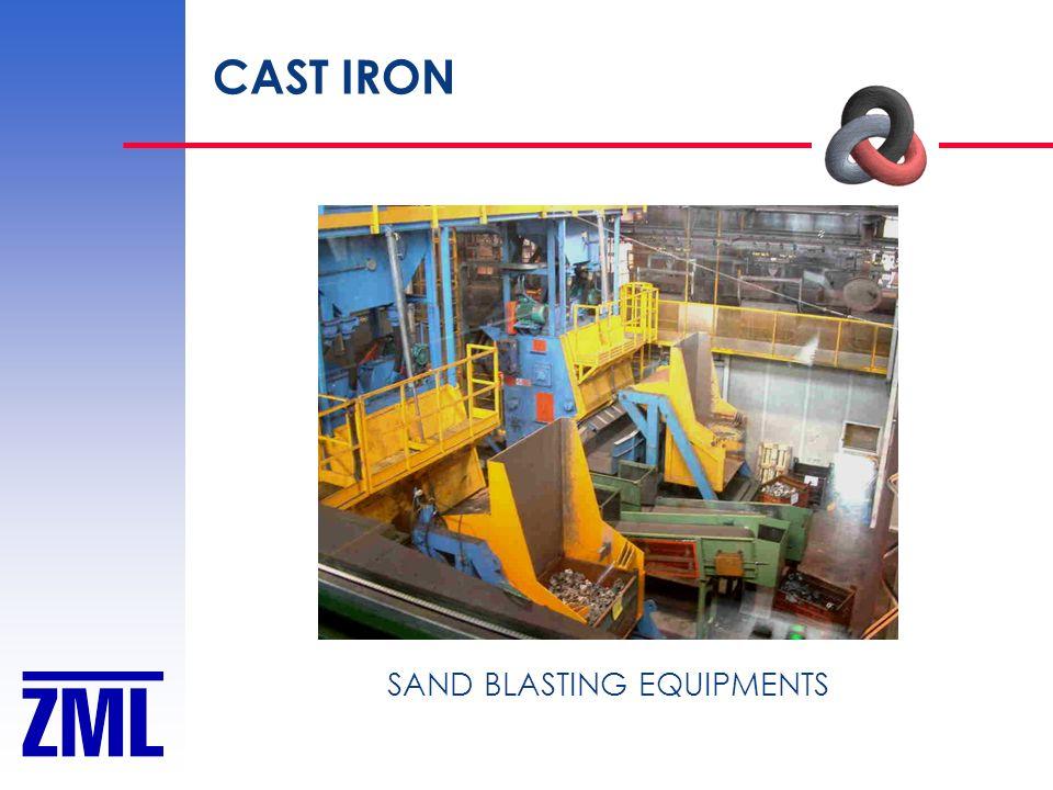 CAST IRON SAND BLASTING EQUIPMENTS