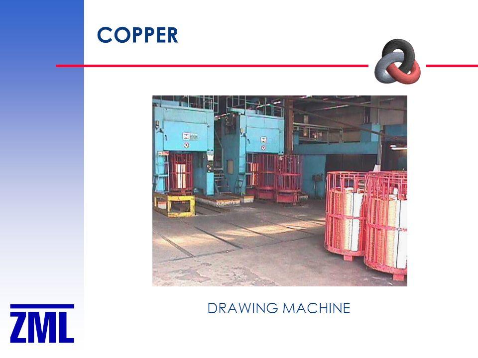 COPPER DRAWING MACHINE