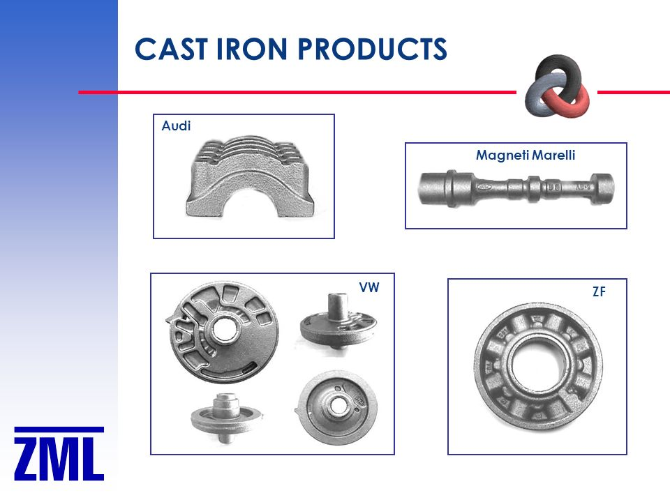 CAST IRON PRODUCTS Audi Magneti Marelli VW ZF