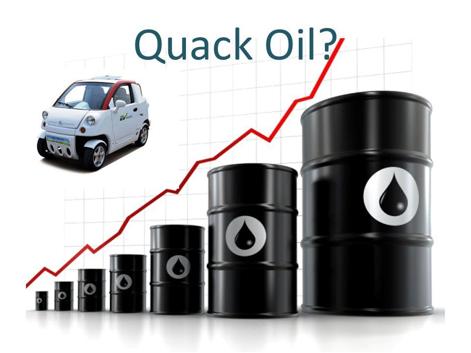 Quack Oil?