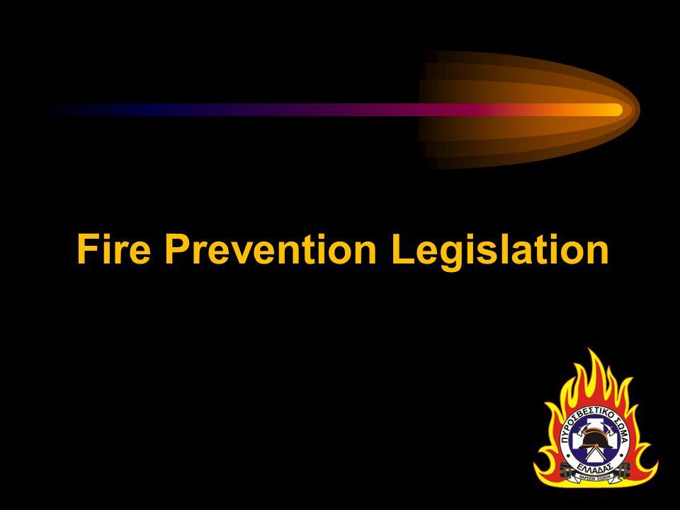 Fire Prevention Legislation