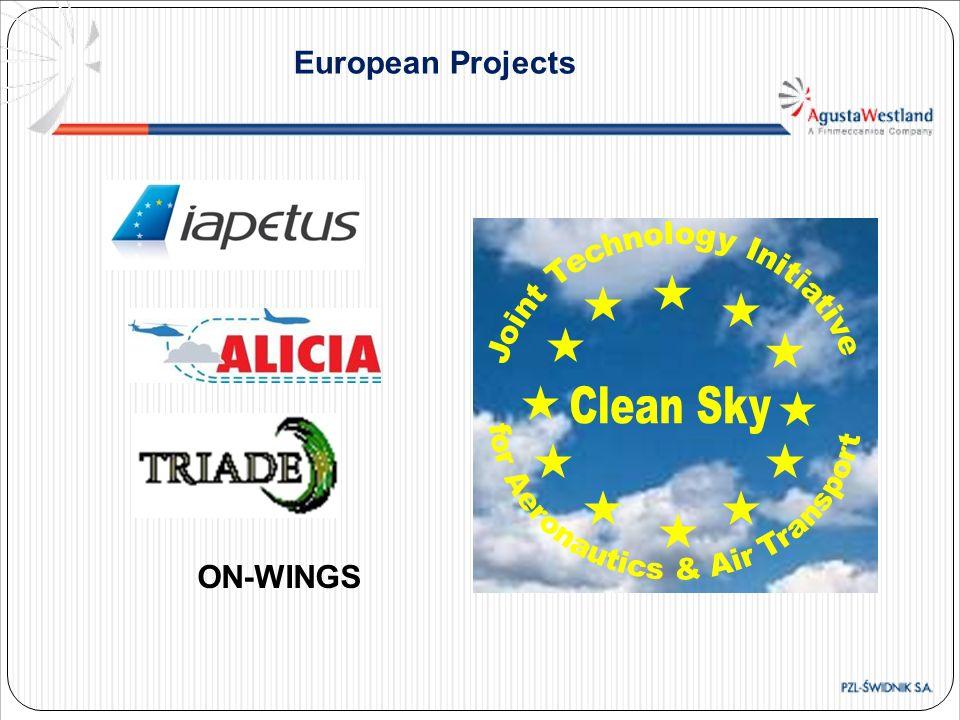 European Projects ON-WINGS