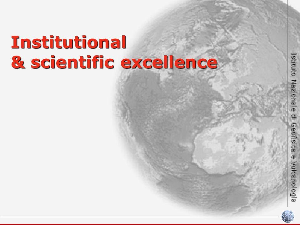 Istituto Nazionale di Geofisica e Vulcanologia Institutional & scientific excellence