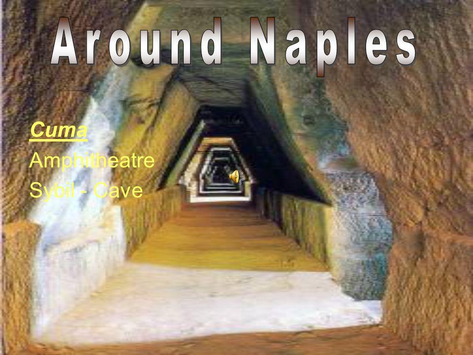 Cuma Amphitheatre Sybil - Cave