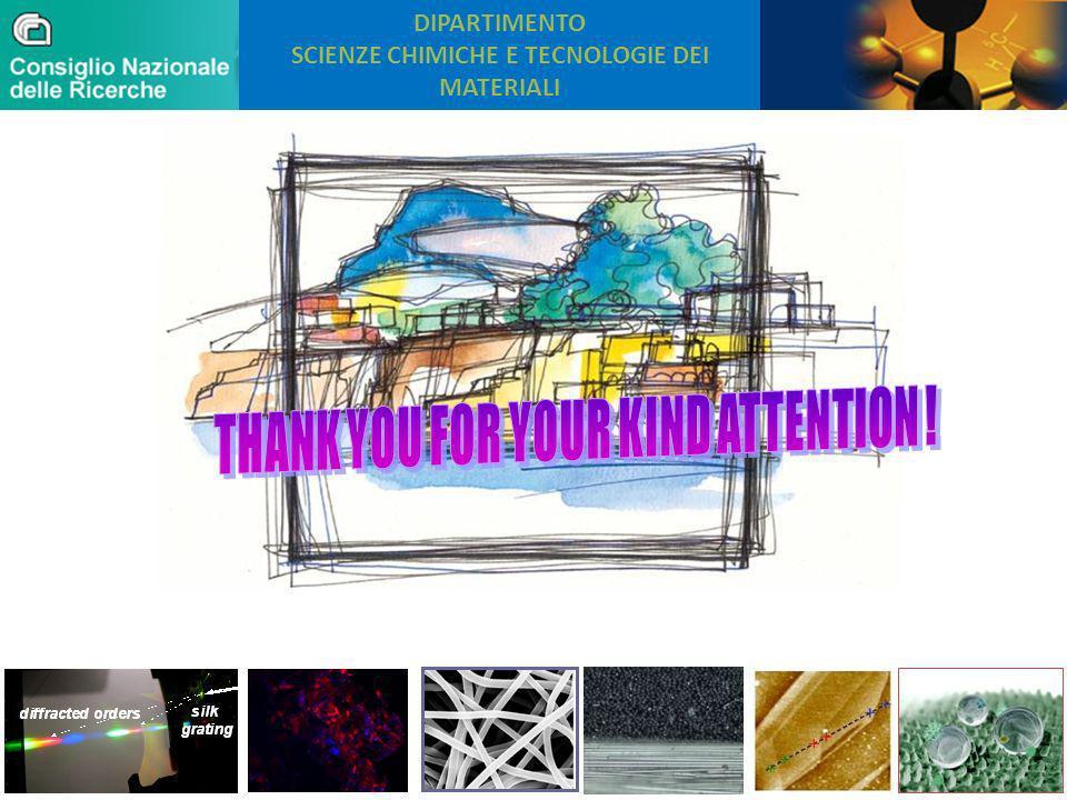 DIPARTIMENTO SCIENZE CHIMICHE E TECNOLOGIE DEI MATERIALI