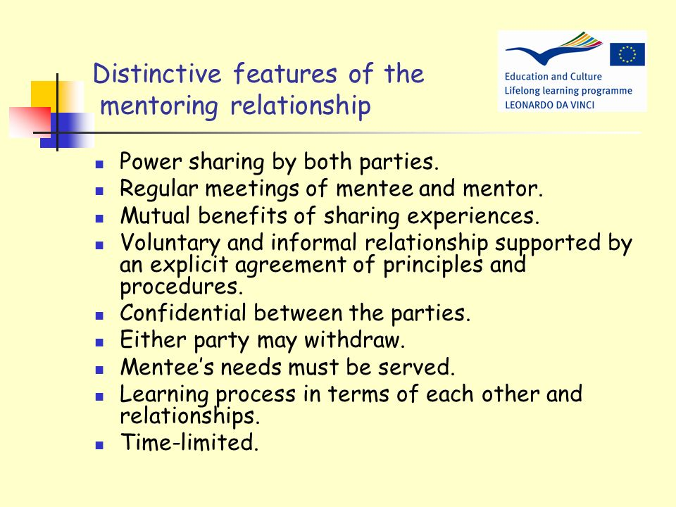 Why mentoring? To help young people with disabilities to develop their ability to meet a variety of challenges associated with every day life and work