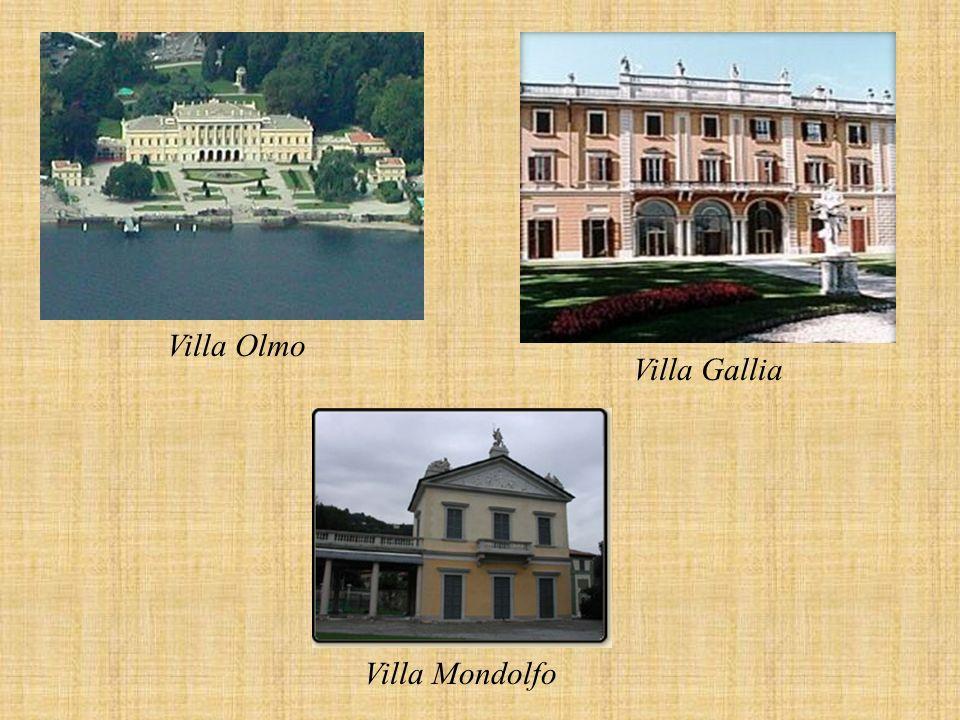 Villa Olmo Villa Mondolfo Villa Gallia