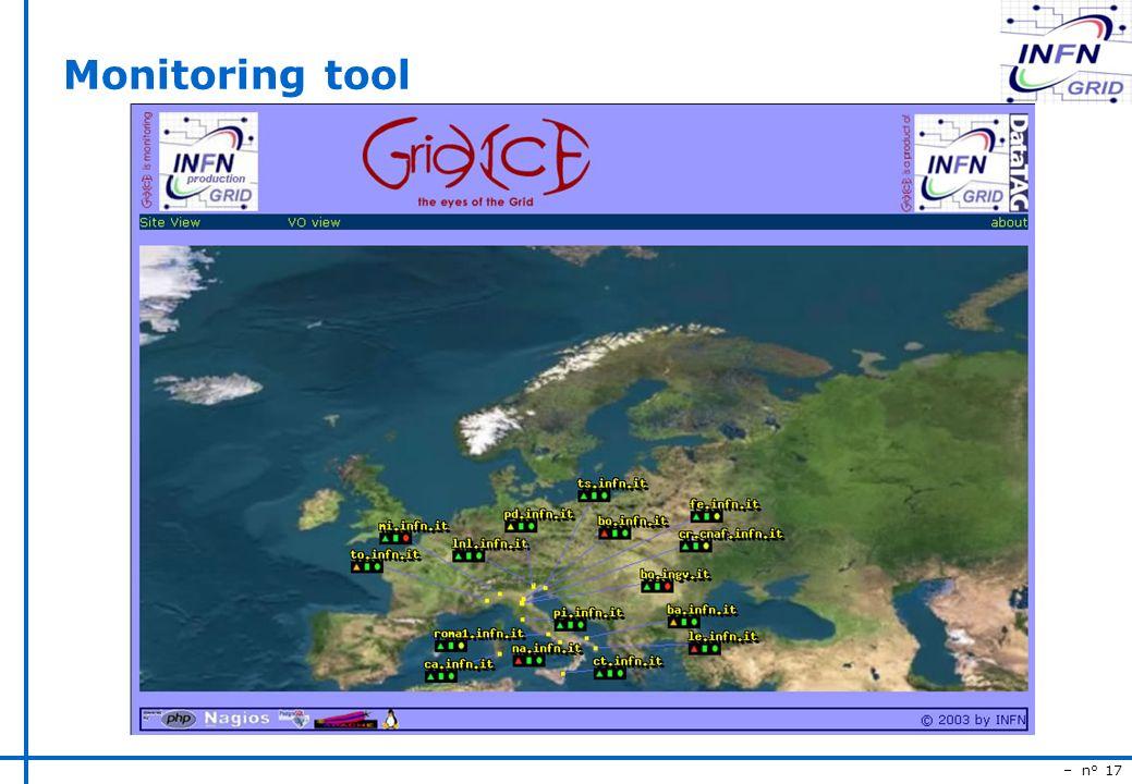 – n° 17 Monitoring tool