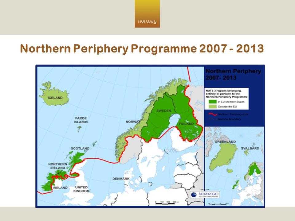 Northern Periphery Programme 2007 - 2013