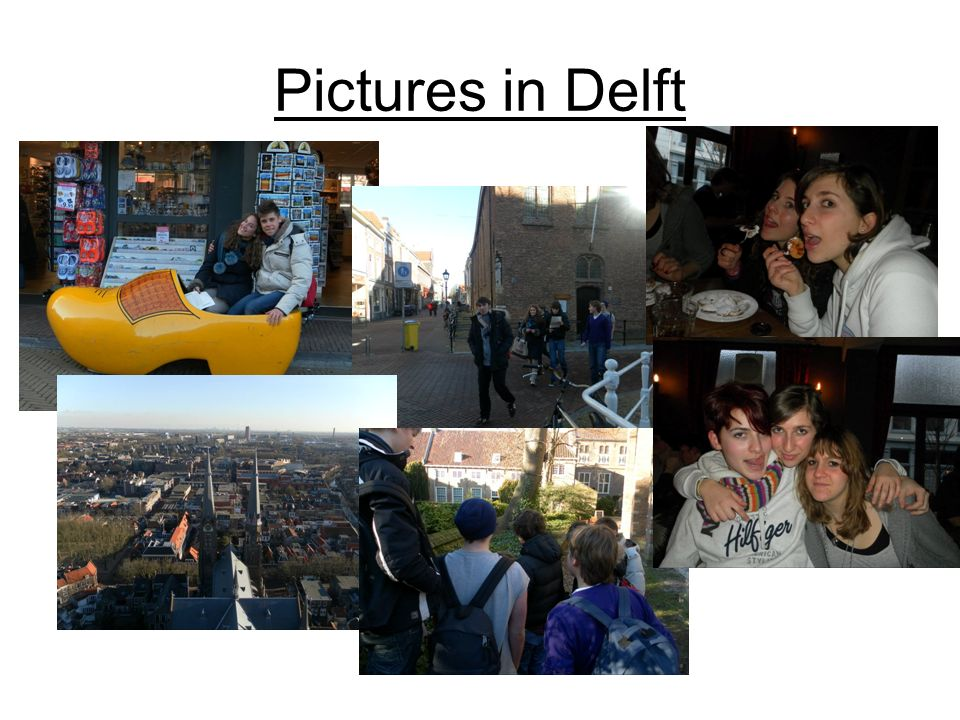 Pictures in Delft
