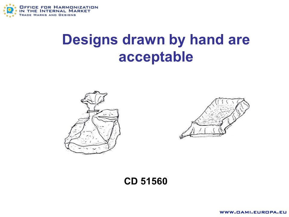 The Office accepts Colouring to be used on a black and white drawing to highlight the features of the design for which protection is sought only CD