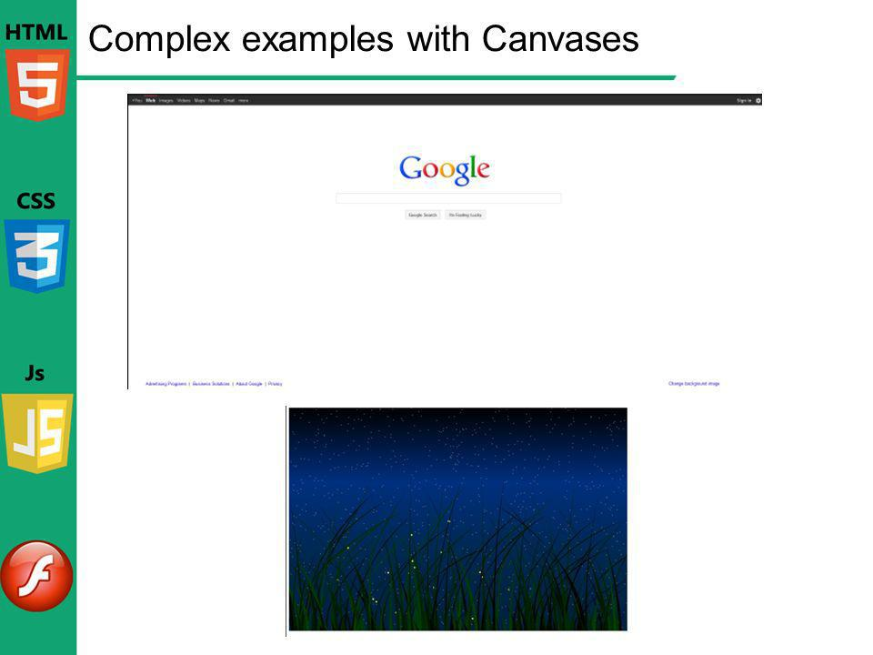 Complex examples with Canvases
