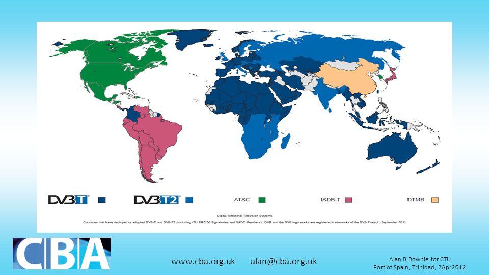 www.cba.org.uk alan@cba.org.uk Alan B Downie for CTU Port of Spain, Trinidad, 2Apr2012
