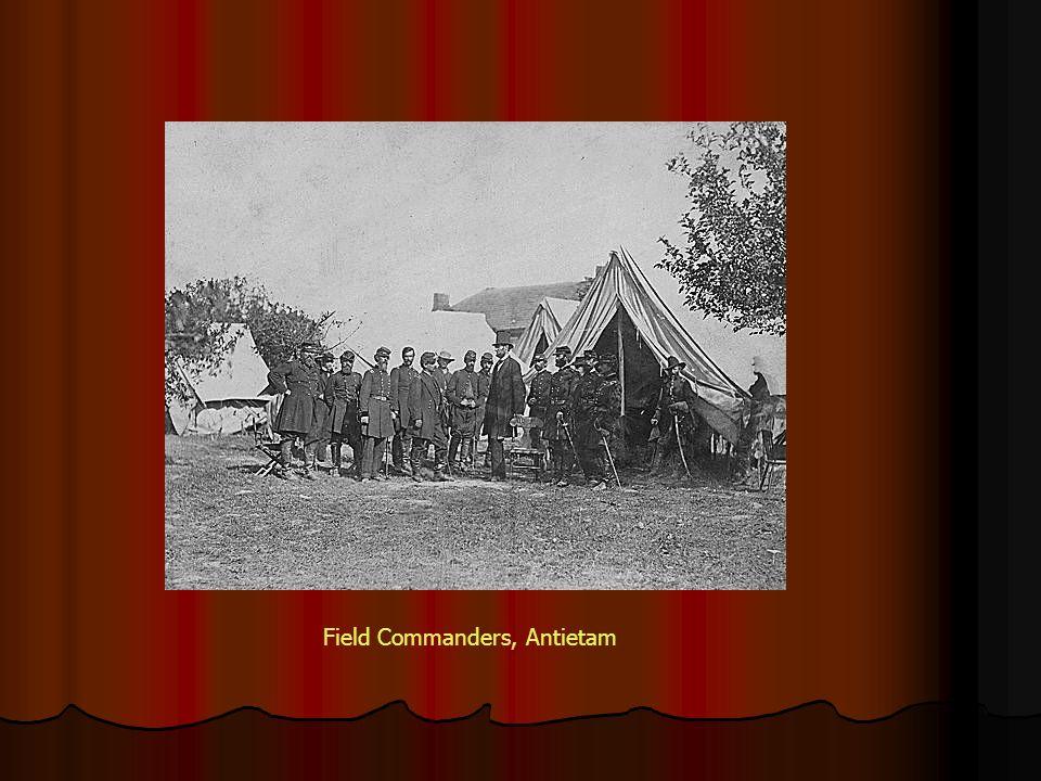 Field Commanders, Antietam