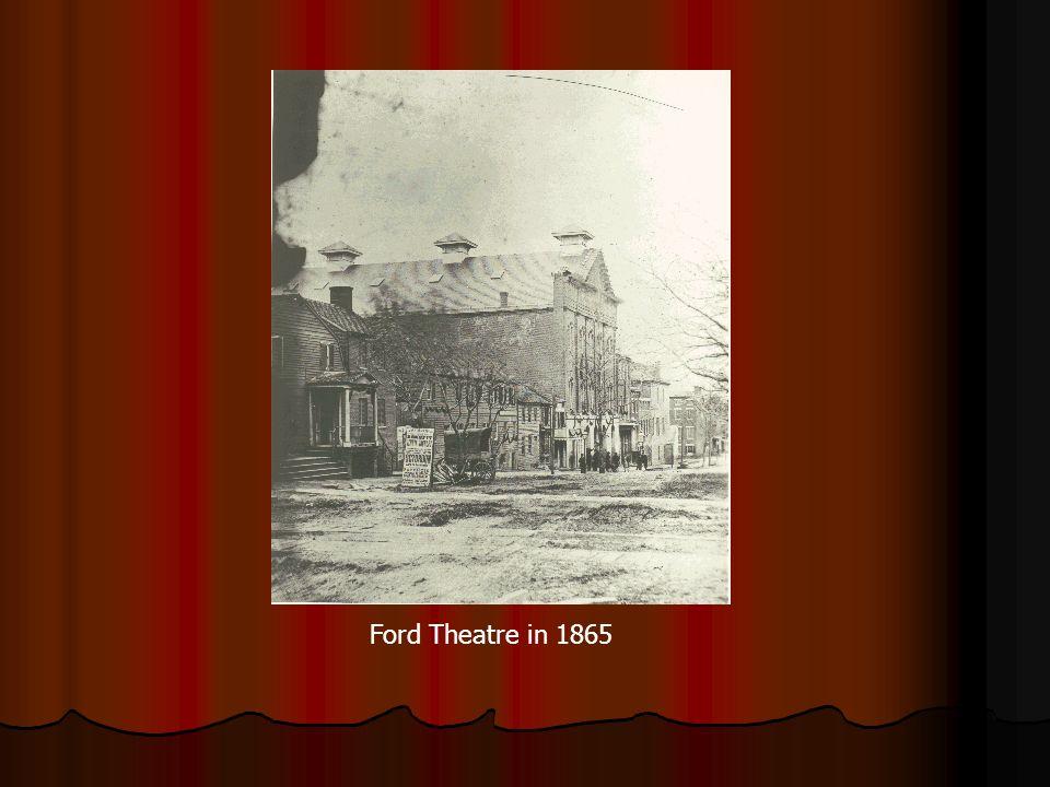 Ford Theatre in 1865