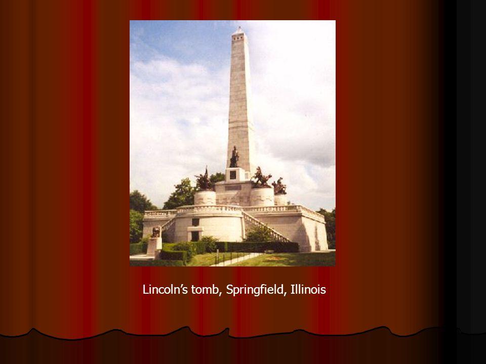 Lincolns tomb, Springfield, Illinois