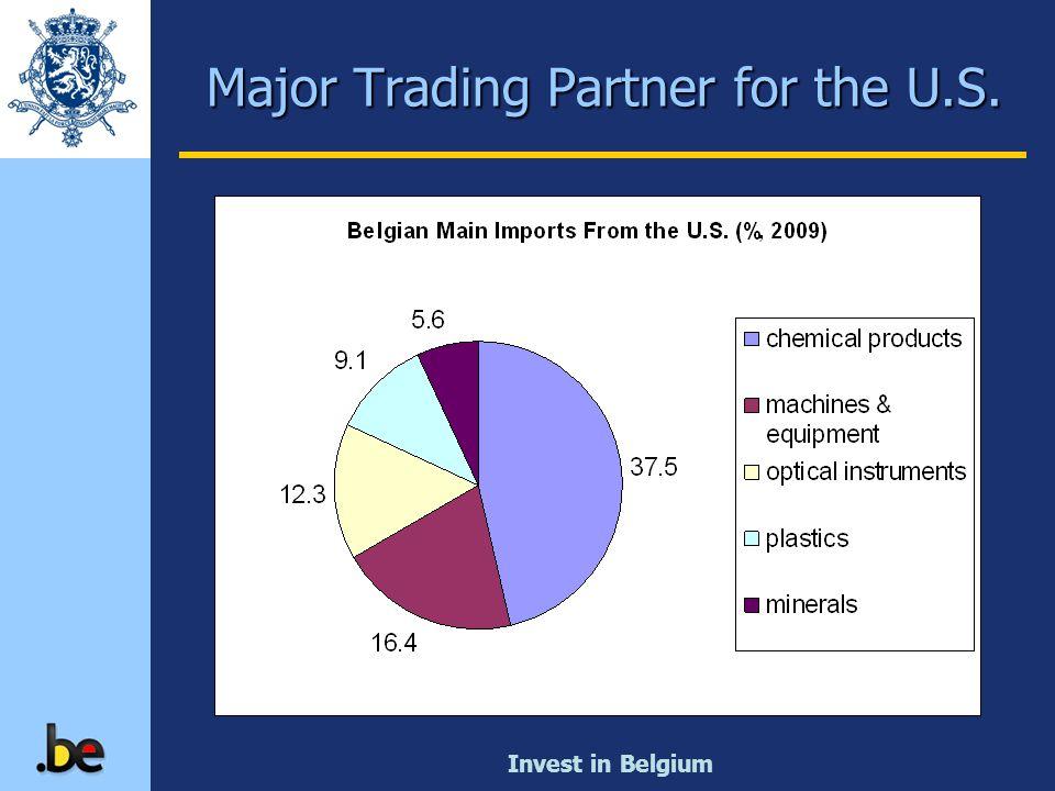 Invest in Belgium Major Trading Partner for the U.S.